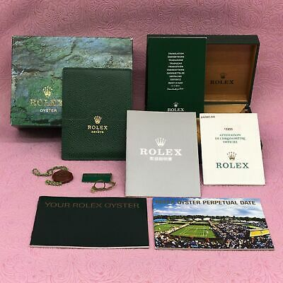 $ CDN338.79 • Buy GENUINE ROLEX Watch Box Case OYSTER PERPETUAL 68.00.08 Guarantee Booklet B5558