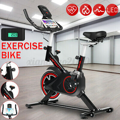 £126.16 • Buy Home Gym Spin Bike Exercise Fitness Bike Fitness Cardio Workout Indoor Machine