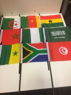 £3 • Buy New 4  X 6  National Hand Held Flags