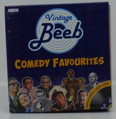 £3.99 • Buy BBC Vintage Beeb LP's Comedy Favorites As 10 CD Boxed Set Of Old Vinyl Albums