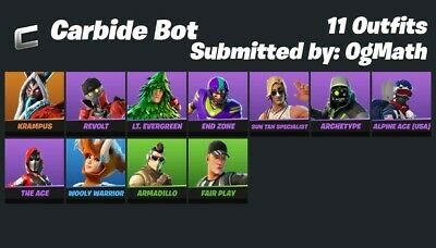 $ CDN21.97 • Buy Fornite Compte Skin Skieur Pour Ps4 Switch Et Pc