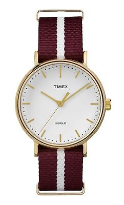 $ CDN33.96 • Buy Timex Women's Analogue Quartz Watch With Textile Strap TW2P98100