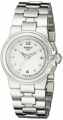$ CDN253.55 • Buy Tissot Women's 'T Sport' White Diamond Dial Quartz Watch T0802101101600