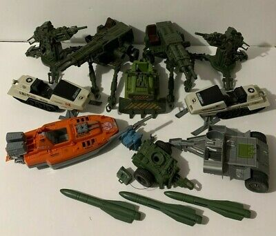$ CDN75 • Buy Vintage Gi Joe Vehicle Lot Devilfish, Flak, Hal, Mms Hasbro