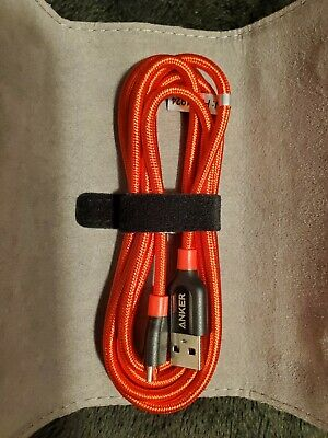 AU12.01 • Buy Anker Micro Usb Cable 6ft,red Color.