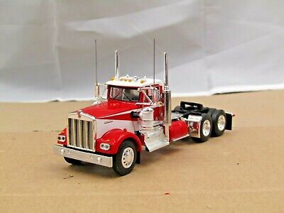$ CDN56.47 • Buy Dcp Red/white KW W900A Daycab Tractor 1/64