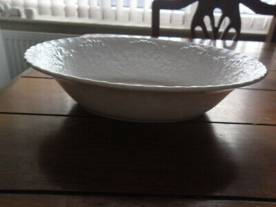 £20 • Buy Spode White Cabbage Leaf Oval Bowl #2
