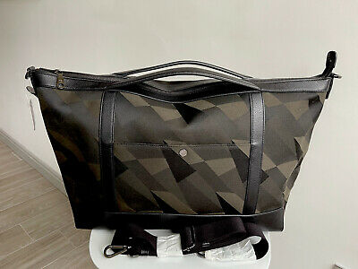 £350 • Buy *mulberry*dazzle Camo Clipper Multitasker Overnight Gym Work Laptop Holdall Bag