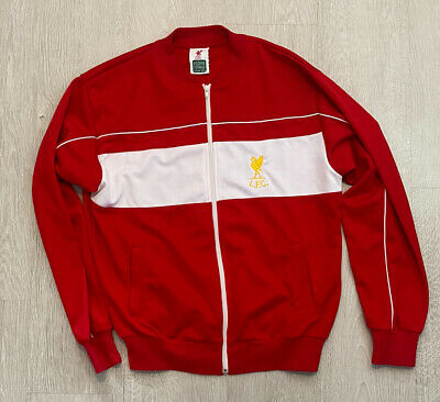 £21.59 • Buy Mens Liverpool 1982 Football Track Top Jacket Score Draw Size Large