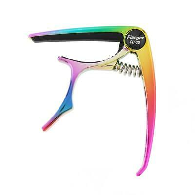 $ CDN11.68 • Buy Metal Rainbow Color Guitar Quick Clamp Capo With Pin Puller For Ukulele Banjo