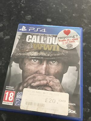 £4.99 • Buy Call Of Duty WWII COD World War 2 PS4