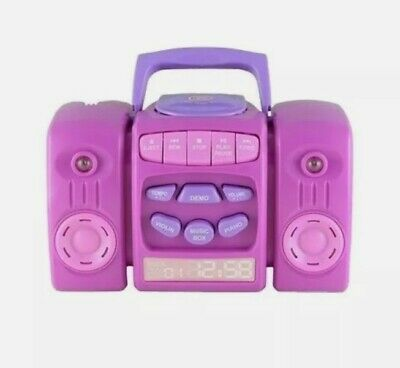 £12.95 • Buy BN Chad Valley My First Music Player - Pink - CD Music - Lights & Sounds