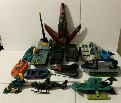 $ CDN125 • Buy VINTAGE GI JOE COBRA VEHICLE RESTORATION LOT ! HASBRO 1980s