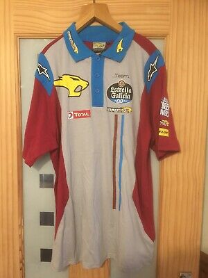 £15 • Buy MARC VDS Team Polo Shirt, Size Large, Moto Gp, Triumph, NEW,