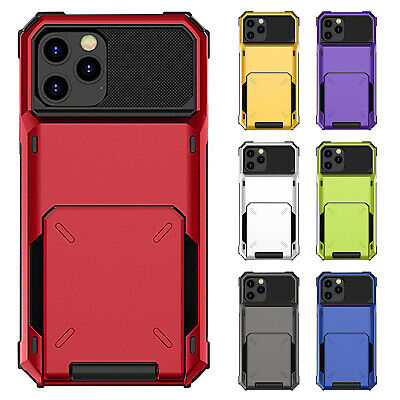AU11.99 • Buy Case For IPhone 12 Pro Max 12 11 8 7 6s SE2 Cover Deluxe Shockproof Hybrid Card