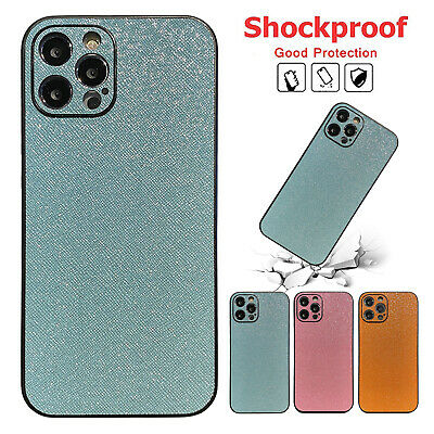 AU7.56 • Buy For IPhone 12 11 Pro Max XS XR 8 7+ Bling Glitter Leather Shockproof Case Cover