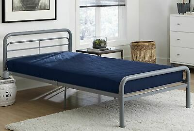 $ CDN50.81 • Buy Value 6 Inch Polyester Filled Quilted Top Bunk Bed Mattress, Twin, Navy