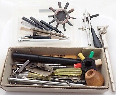 $ CDN12.70 • Buy Lot Of Vintage Watchmaker Watch Repair Tools Parts