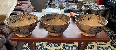 $150 • Buy 3 Antique Chinese Bowls P.REGOUT & Co MAASTRICHT TIMOR