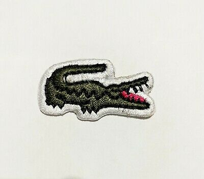 £1.99 • Buy CROCODILE  Embroidered Logo Patch Badge Iron On/Sew On Fancy Dress Pride