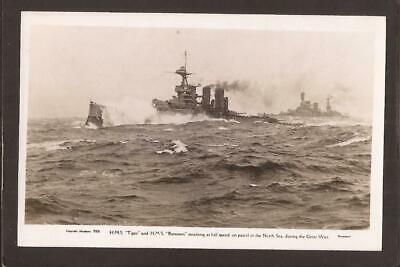 £4.99 • Buy H.M.S.TIGER And H.M.S.RENOWN. On Patrol In The North Sea During The Great War.RP