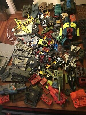 $ CDN124.02 • Buy HUGE LOT GI JOE COBRA Vintage 80's 90's Vehicles Weapons Accessories Tiger BUGG