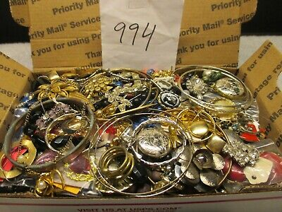 $ CDN42.34 • Buy Large Vintage To Now Estate Find Jewelry Lot,  JUNK DRAWER  Unsearched Untested