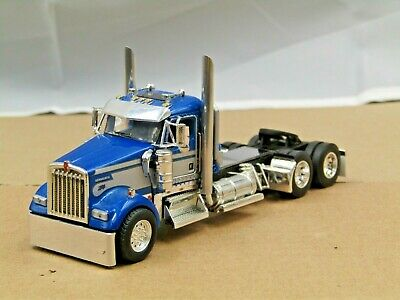 $ CDN56.47 • Buy Dcp Custom Blue/silver Kenworth W900L Daycab Tractor Only No Box 1/64