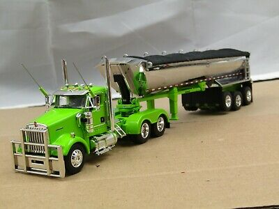 $ CDN84.70 • Buy Dcp Custom Lime Kenworth W900L Daycab W/tri Axle MAC Dump Trailer No Box 1/64