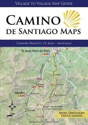 £13.61 • Buy Camino De Santiago Maps