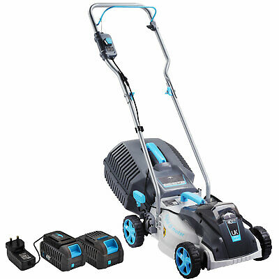 AU329.99 • Buy Swift 40V Cordless Lawn Mower Electric Lawnmower With 2 Battery And Charger