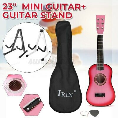 £10.89 • Buy 23''pink Childrens Kids Wooden Acoustic Guitar Musical Gift W/ Guitar Stand Uk