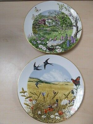 £8.99 • Buy 3 Royal Worcester Franklin Ltd Edition Collectors Plates June And August Y23 C18