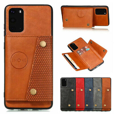 AU11.99 • Buy For Samsung S21+ Ultra Note 20 S20 S10e Magnetic Leather Wallet Card Case Cover