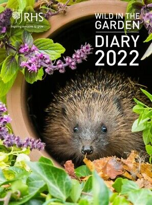 £14.70 • Buy Royal Horticultural Society Wild In The Garden Diary 2022 By Royal Horticultural
