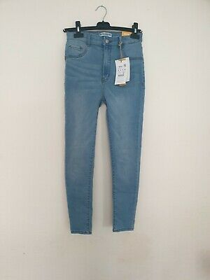 £7.50 • Buy Pull&Bear Jeans Size 12 Women Blue (see Details)