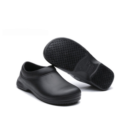 £17.98 • Buy Non-slip Chef Shoes Mens Womens Kitchen Safety Shoes Slip On Work Boots UK3-UK12