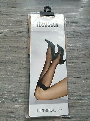 £11 • Buy Wolford Individual 10 Knee-Highs Gobi Size Small