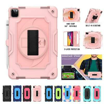 AU21.47 • Buy Shockproof Heavy Duty Hard Case Stand Cover W/Strap For IPad 10.2  Air Pro10.5