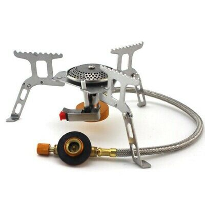 £12.89 • Buy Wind Proof Outdoor Burner Camping Stove Tourist Equipment Kitchen Cylinder  W4W7