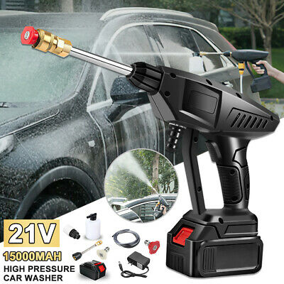 £71.99 • Buy Portable Cordless Electric Pressure Washer Powerful Wash Jet Patio Car Cleaner