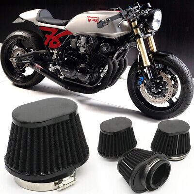 £7.89 • Buy 55mm Universal Motorcycle Air Filter Breather High Flow Intake Cone For Suzuki