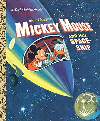£3.59 • Buy Mickey Mouse And His Spaceship (Little Golden Books) By Werner, Jane Book The