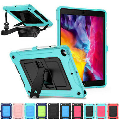 AU27.19 • Buy For IPad 7/8th Gen Air 3/4th Pro 11 10.5 Shockproof Stand Case Cover With Strap