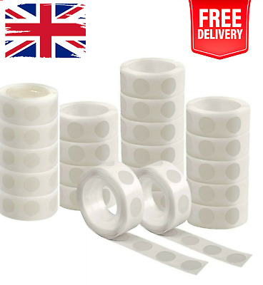 £2.69 • Buy 100 Adhesive Dots Tape Double Sided Glue Sticky Sticker DIY Balloon Clear Decor