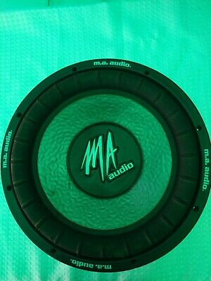 $30 • Buy MA Audio MA120XE 12  Subwoofer Dual 4 Ohm 700 Watt (no Working Only For Parts)