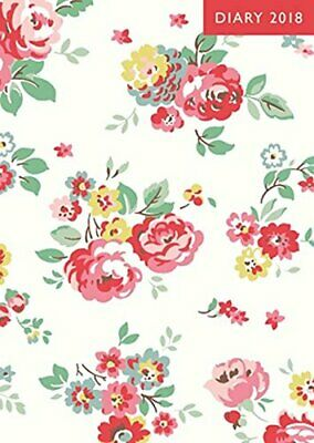 £10.99 • Buy A6 2018 Diary - Wells Rose (Cath Kidston Stationery) By Cath Kidston Book The