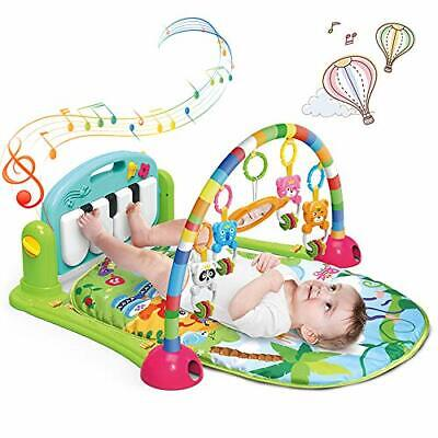 £52.99 • Buy Play Mat Newborn, Baby Kick And Play Piano Gym With Activity Centre,