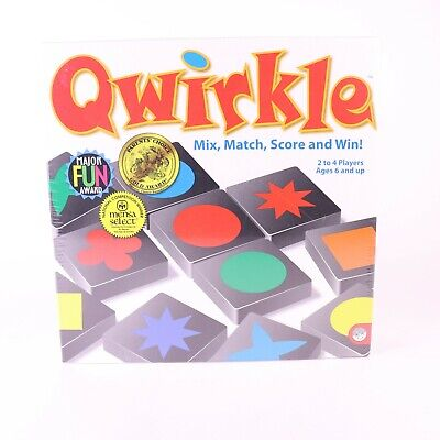 $ CDN34.85 • Buy Qwirkle Educational Game Mix Match Score And Win MindWare New Sealed