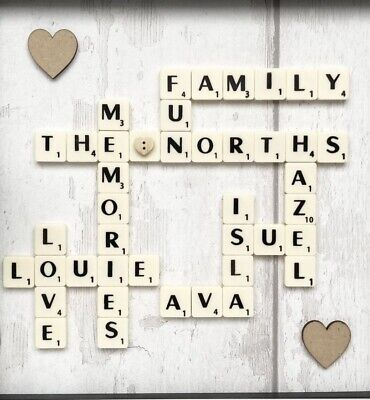 £20 • Buy Personalised Scrabble Picture